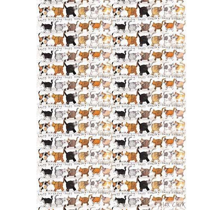 Gift Wrap Felines