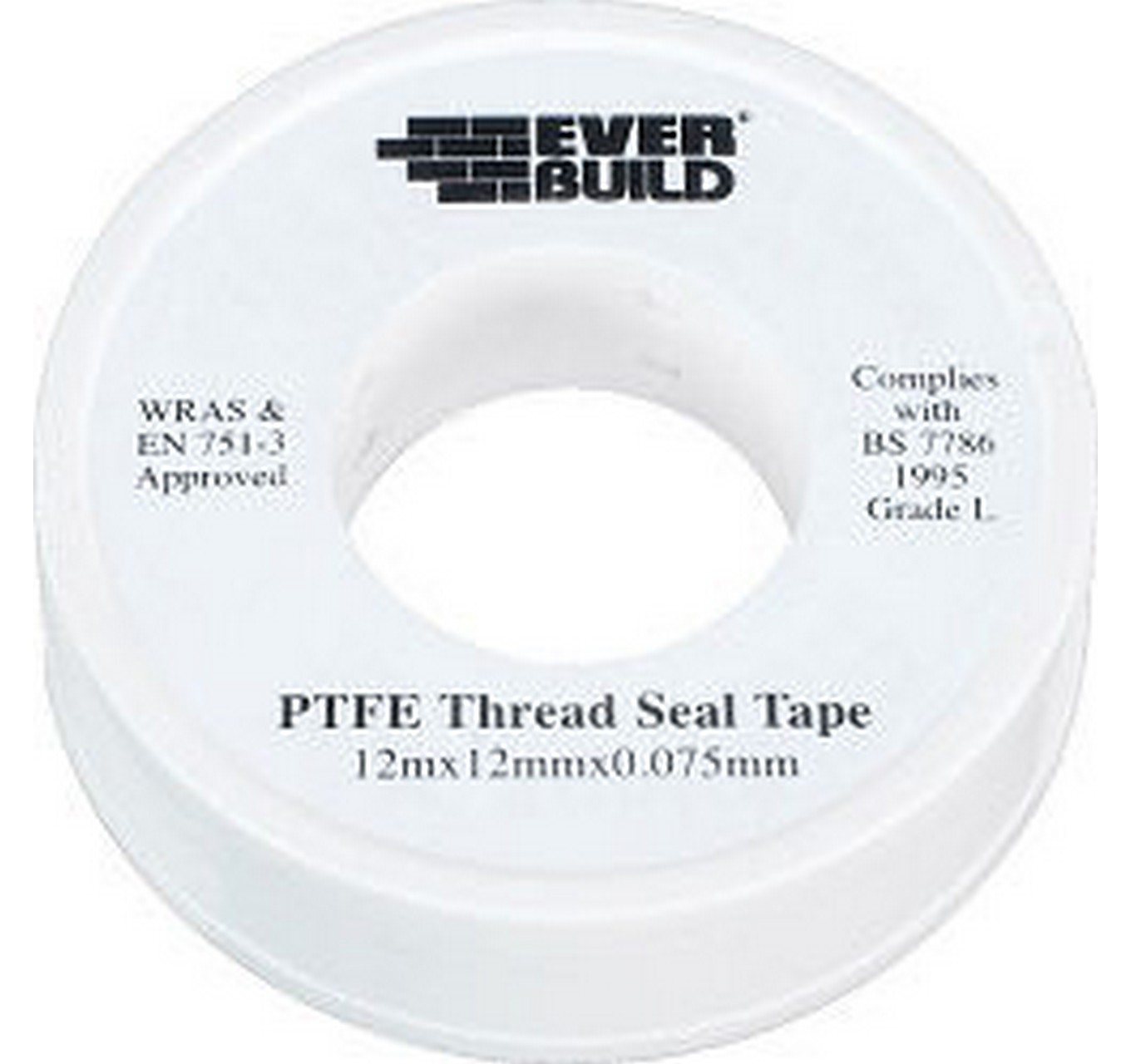 PTFE Pipe Thread 12mm x 12m