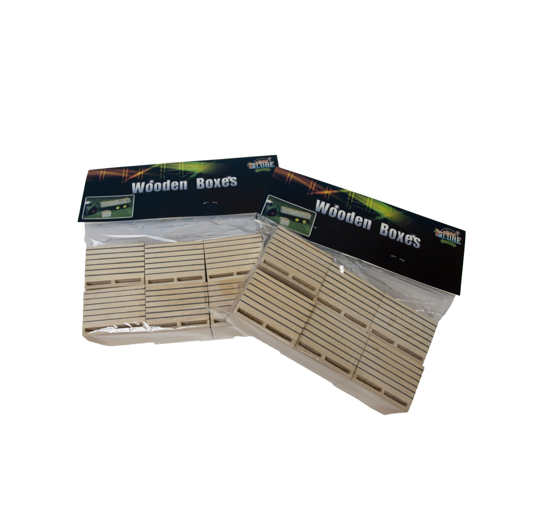 Wooden Potato Boxes - 6pk