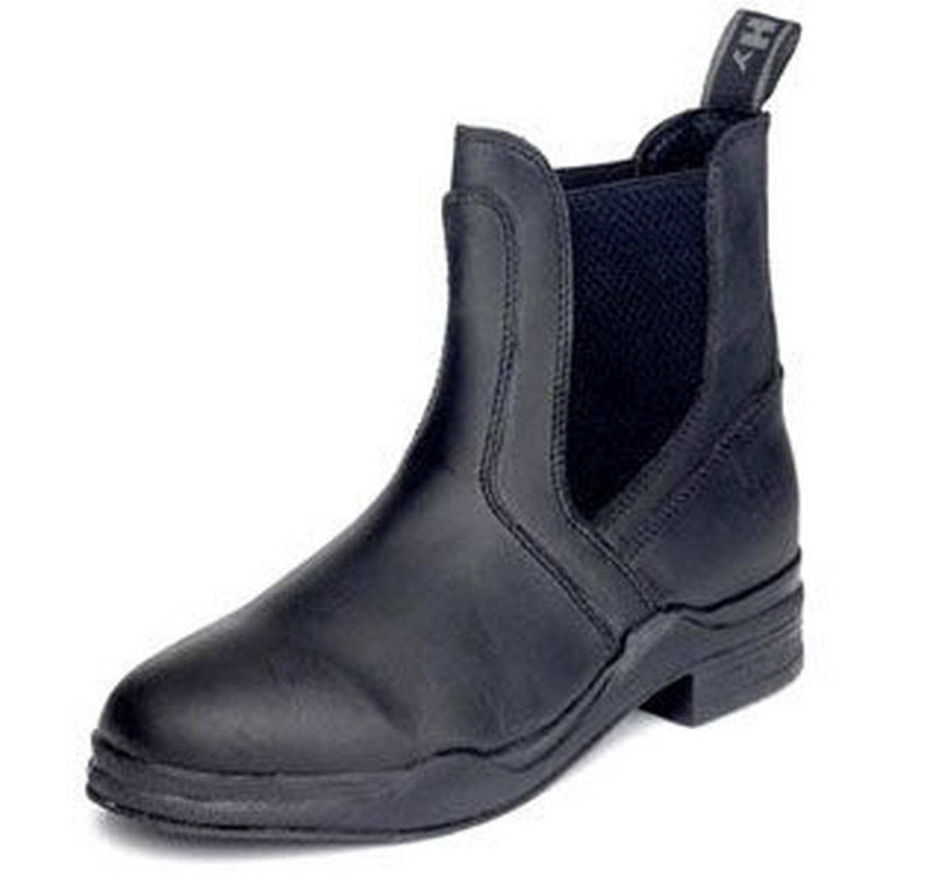 Leather Jodhpur Boot Black 4