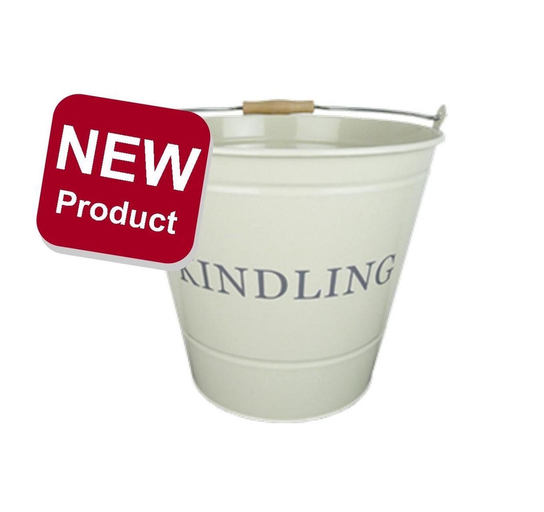 Kindling Bucket - Cream