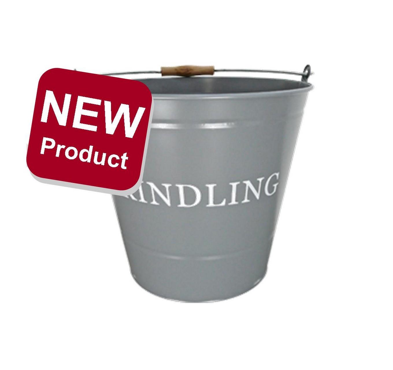 Kindling Bucket - Grey