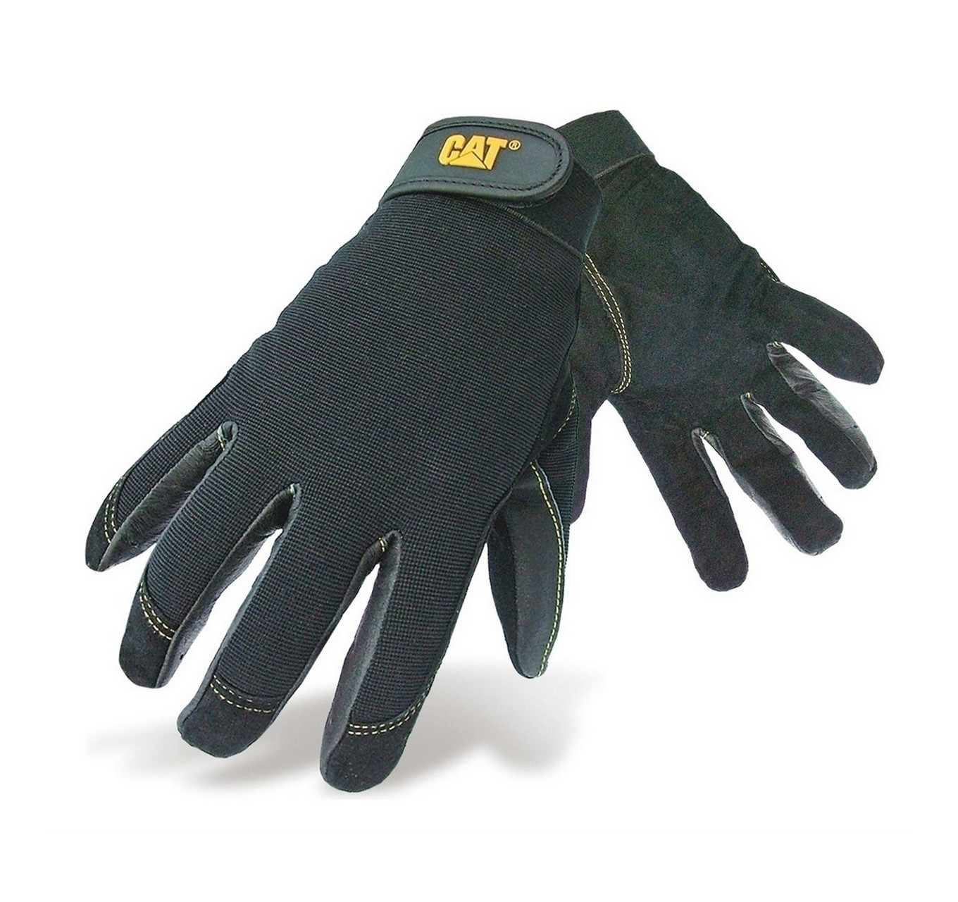 CAT Pig Skin Work Gloves L