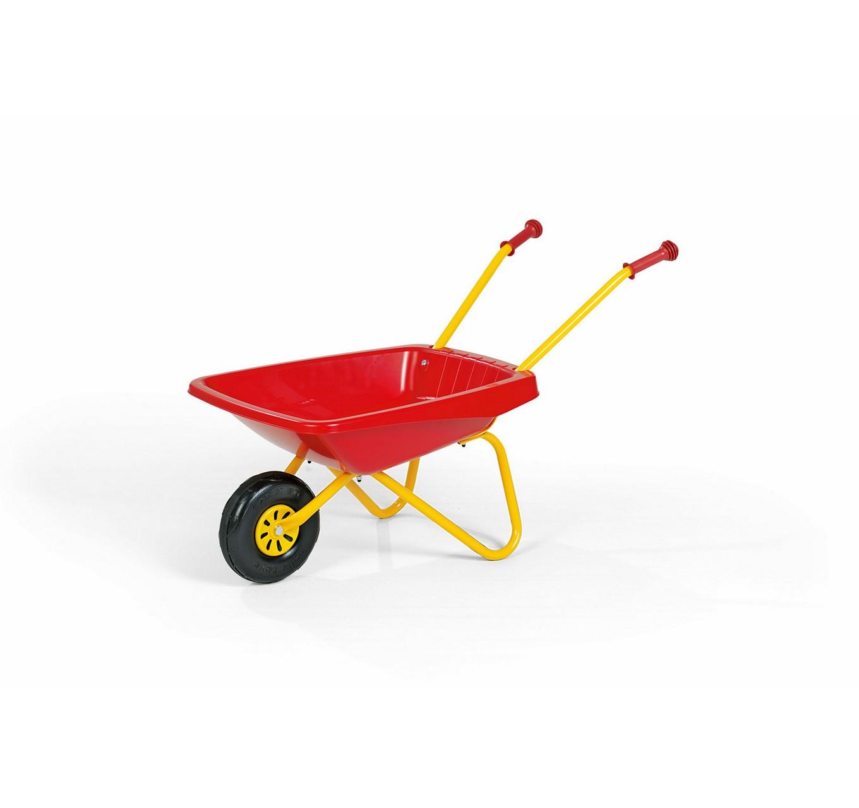 Red Plastic Wheelbarrow