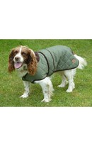 Quilted Dog Coat 30cm Green