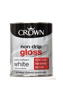 Non-Drip Gloss White 750ml