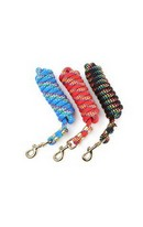 Plaited Lead Rope Red 3m