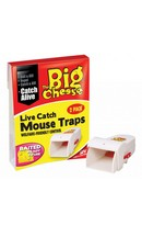 Live Catch Mouse Trap 2pk