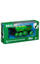Mighty Green Action Locomotive