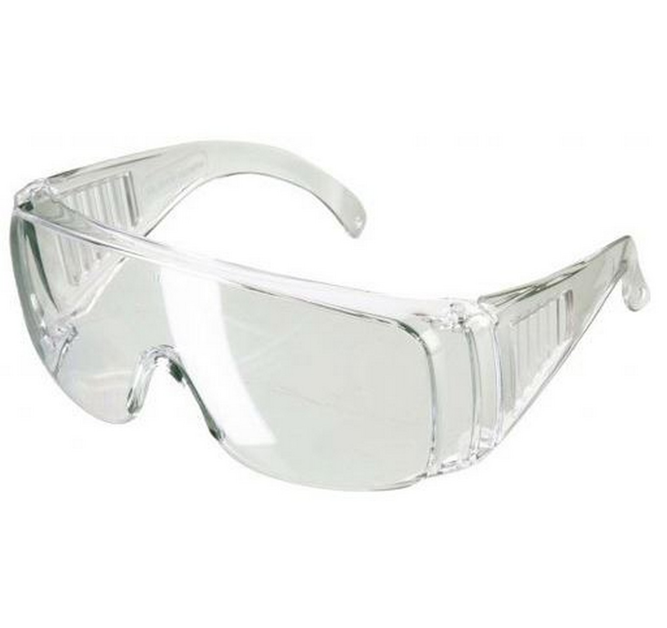 Coveralls Clear Safety Glasses