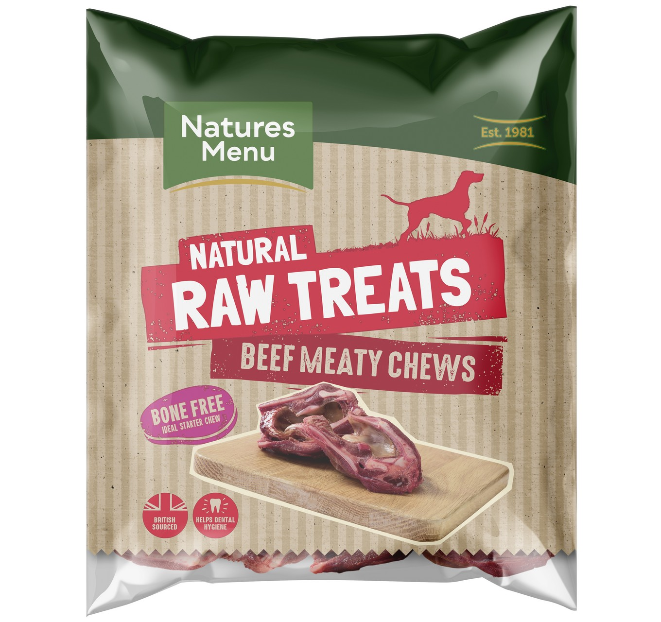 Raw Meaty Beef Chew - 2 Pack