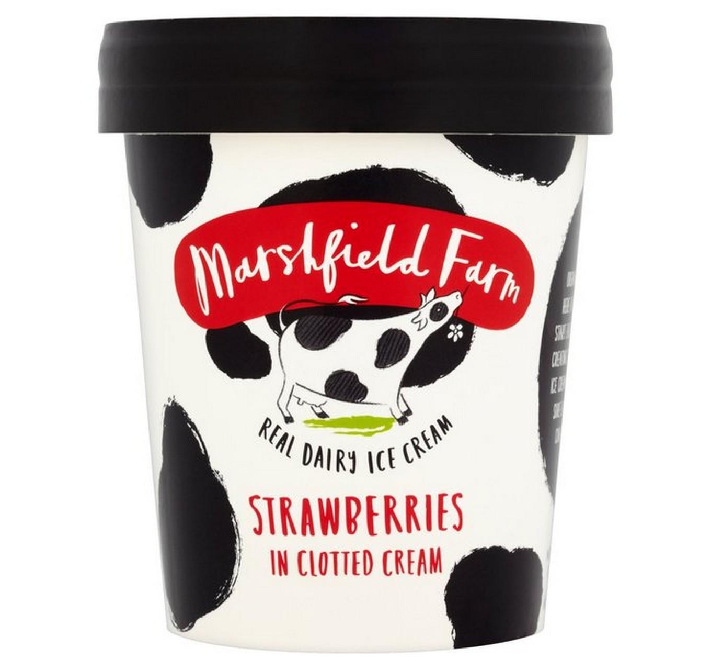 Strawberry Clotted Cream 125ml