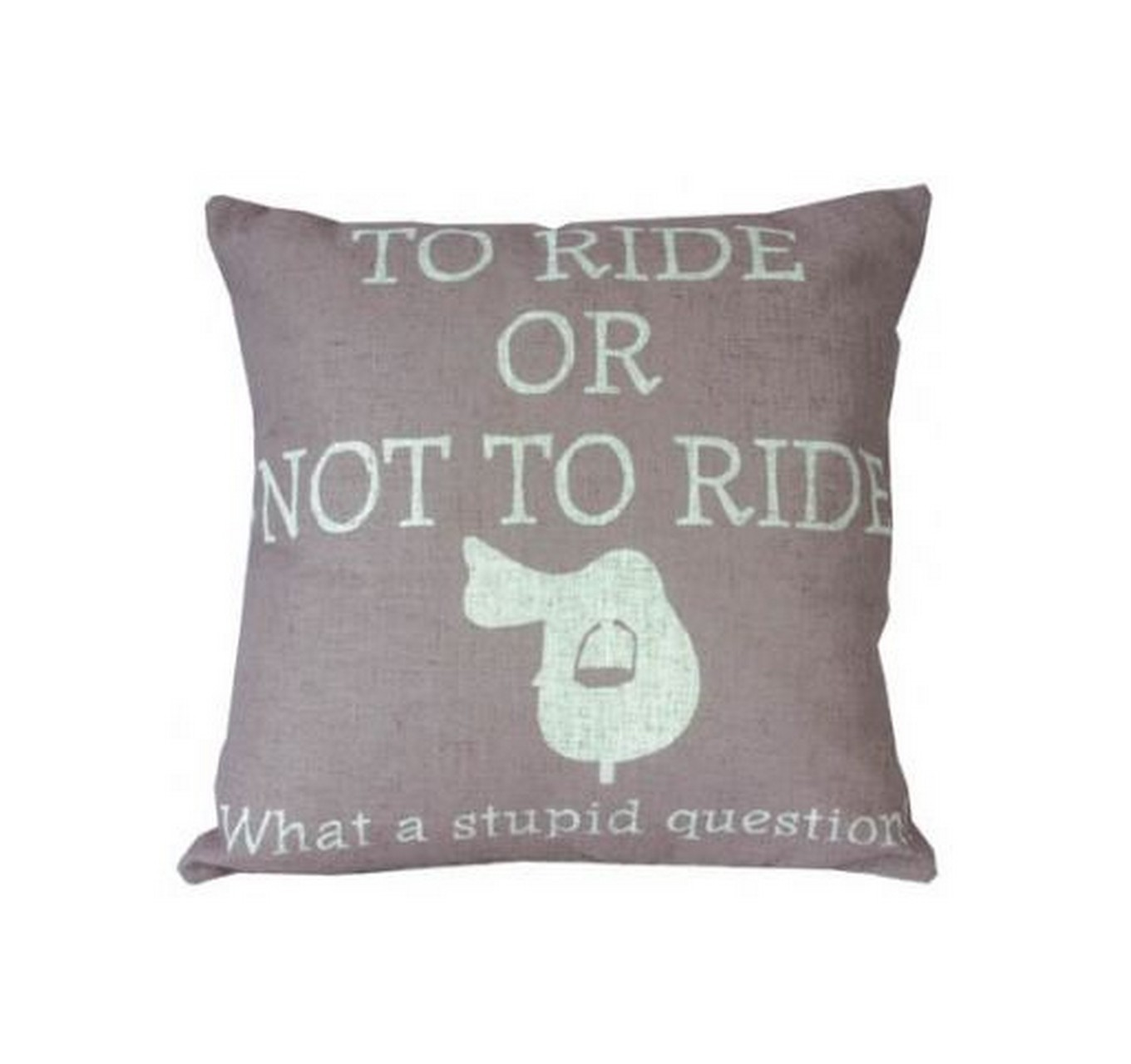 To Ride Cushion - Pink