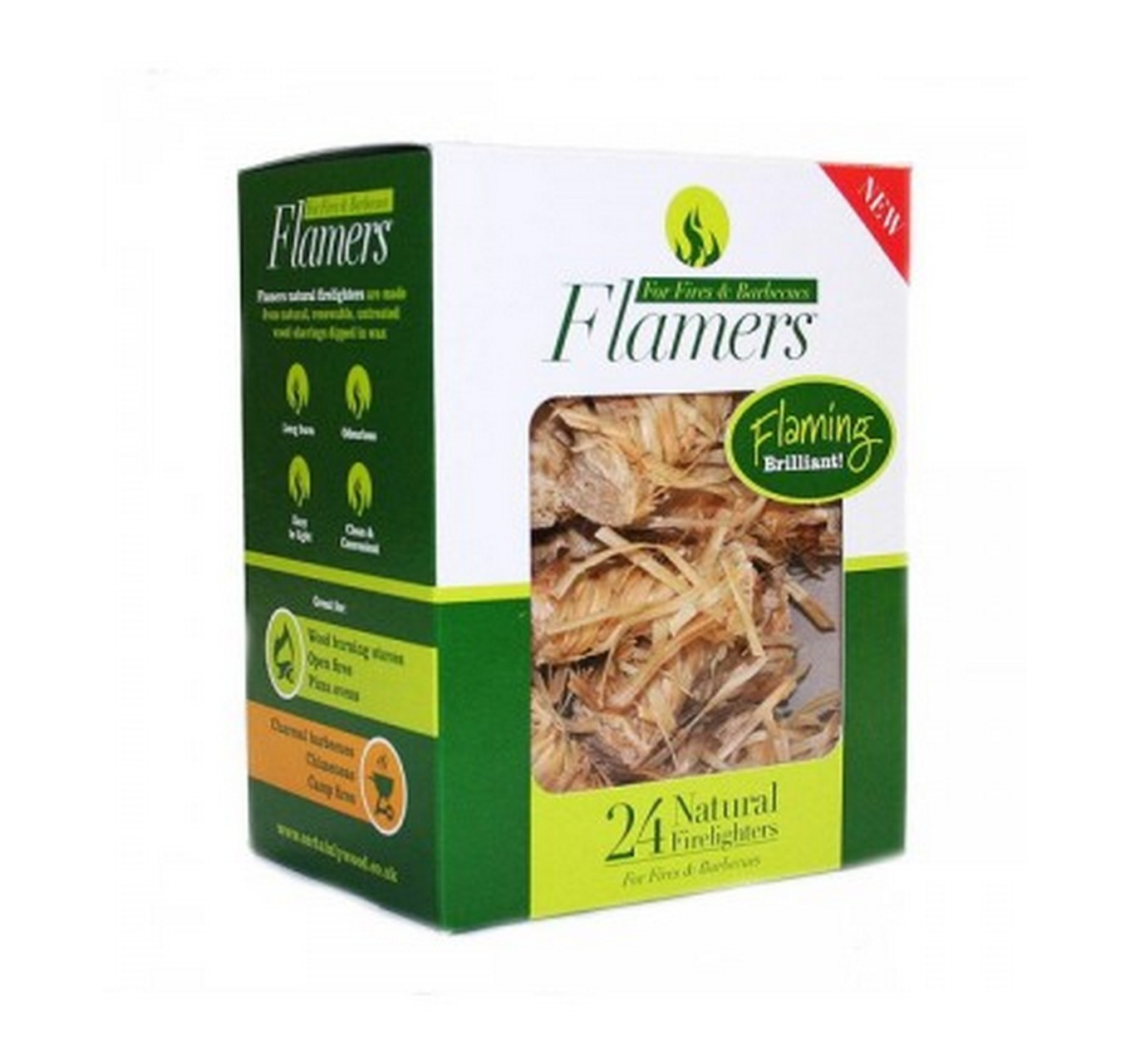 Flamers Firelighters 24pk
