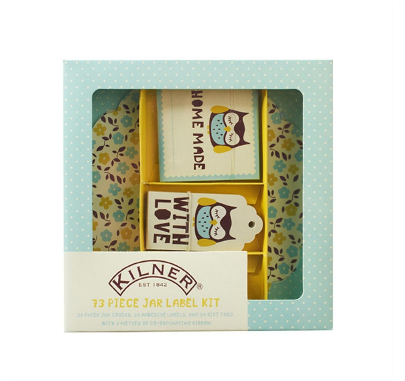 73pce Label Set - Owl Design