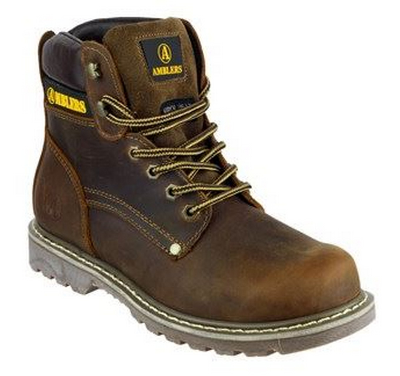 Dorking Work Boot Brown 9