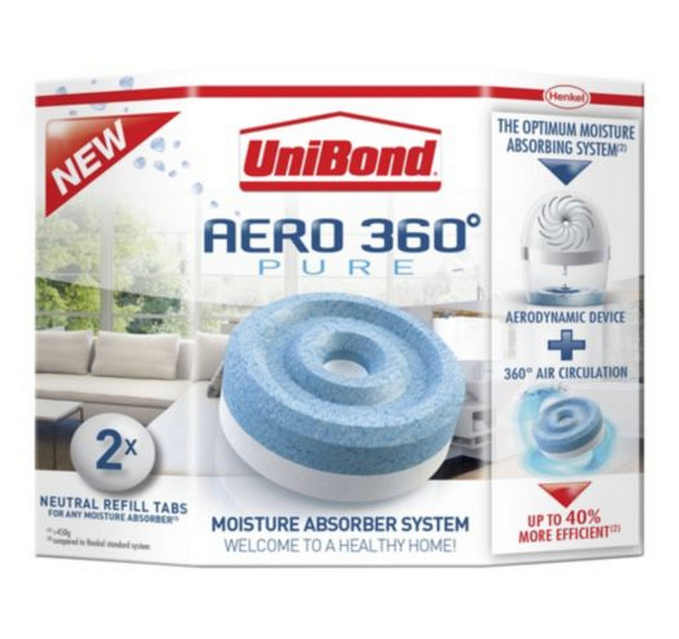 Aero 360 Neutral Refill 2x450g