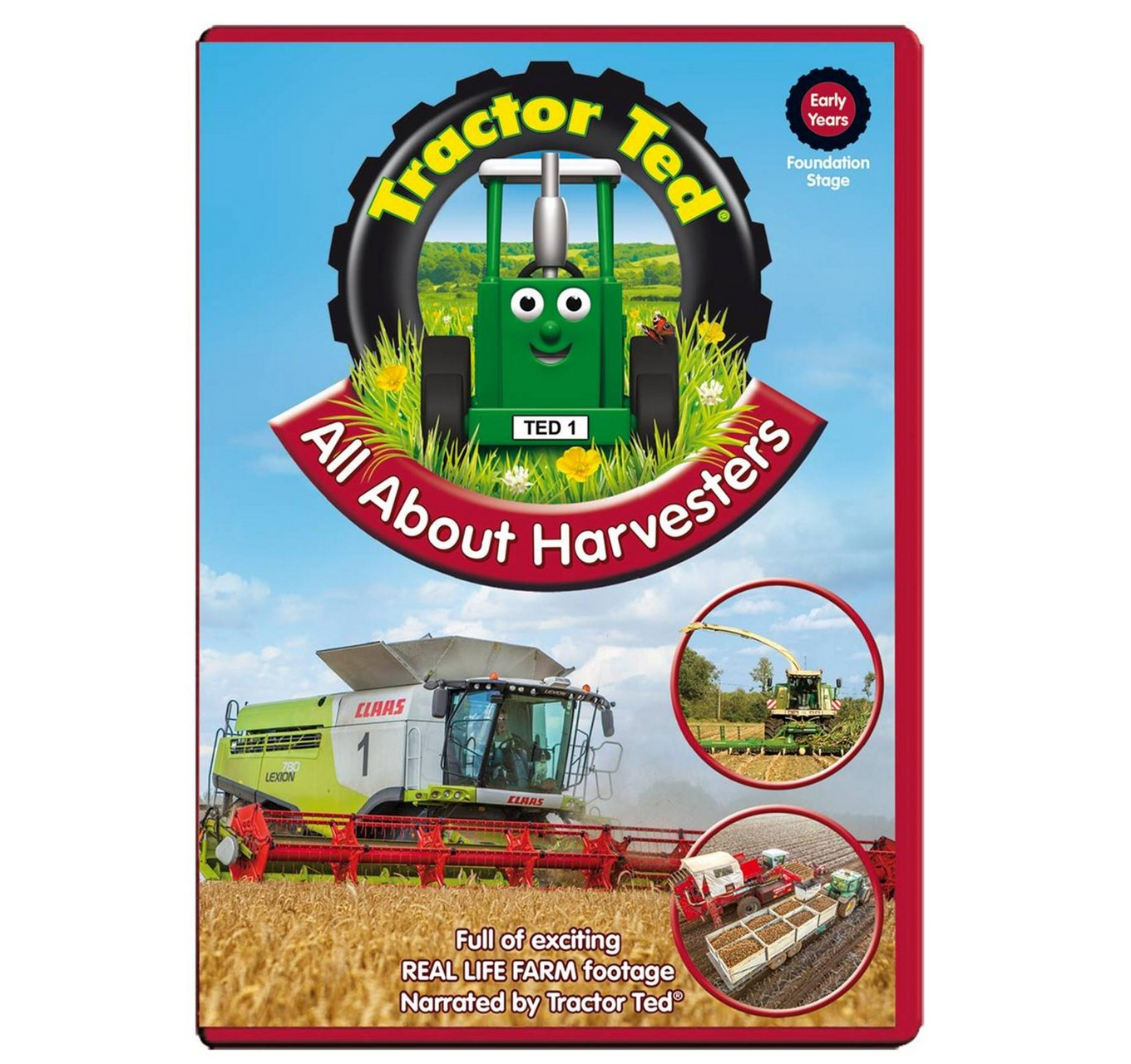 Tractor Ted All About Harvester S Dvd Tractor Ted