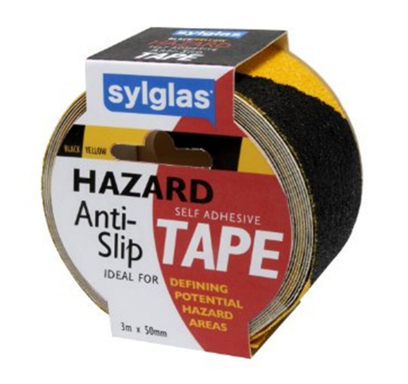 Anti-Slip Tape Hazard 3mx50mm