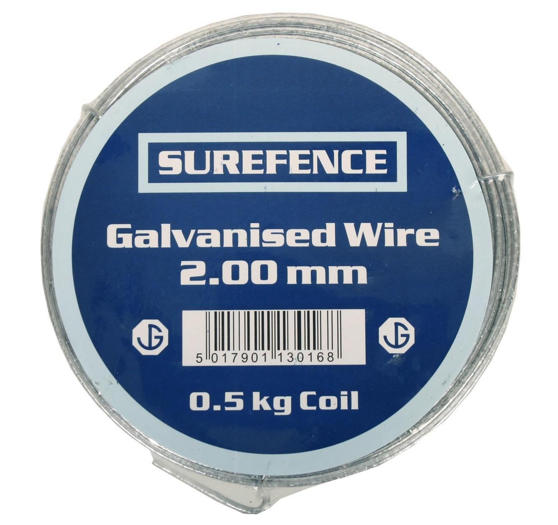 Mild Steel Wire 2mm 500g 20mt