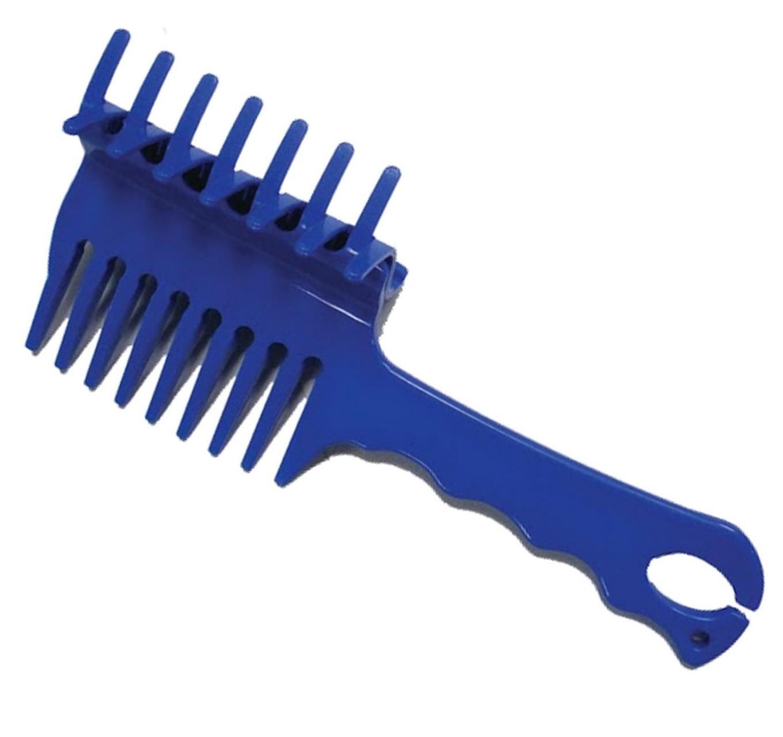 Perfect Plaits Comb Blue