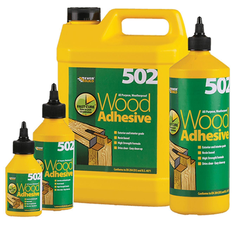 Everbuild Wood Adhesive 125ml