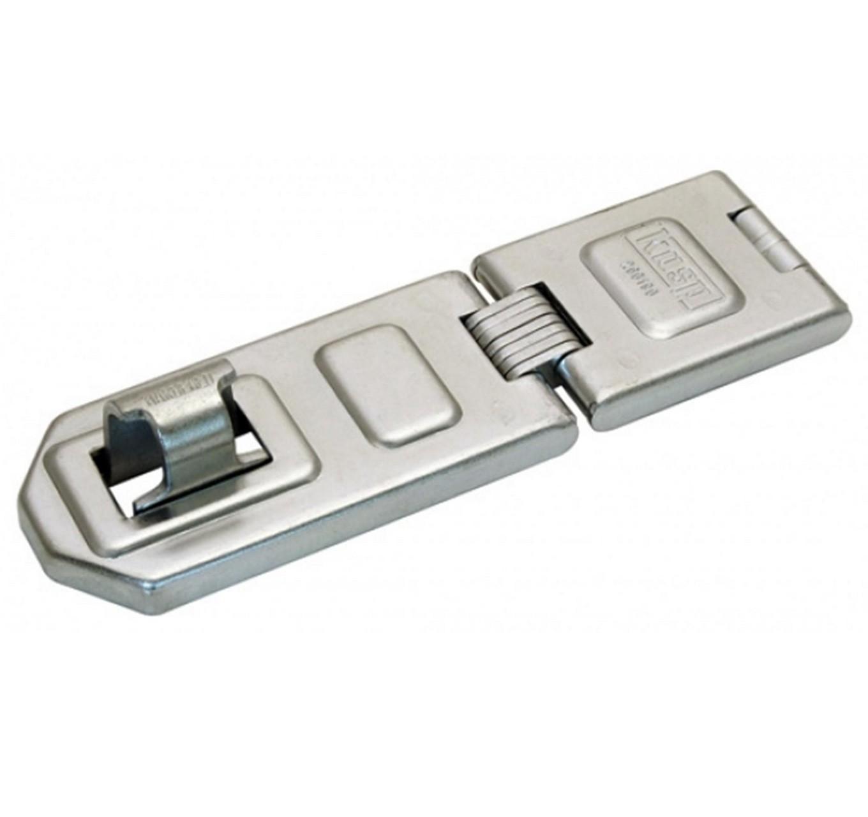 Disc Lock Hasp & Staple 120mm