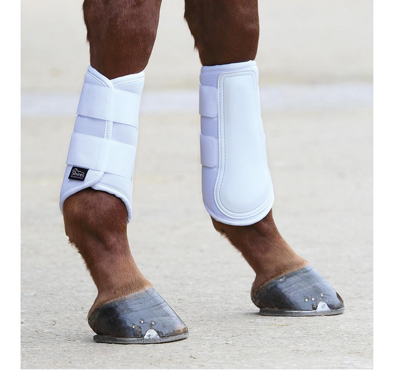 Neo Brushing Boots White Pony