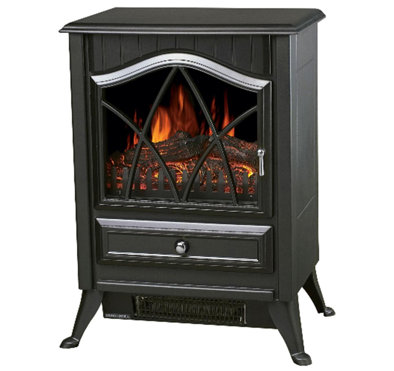 Orbit Electric Stove - Black