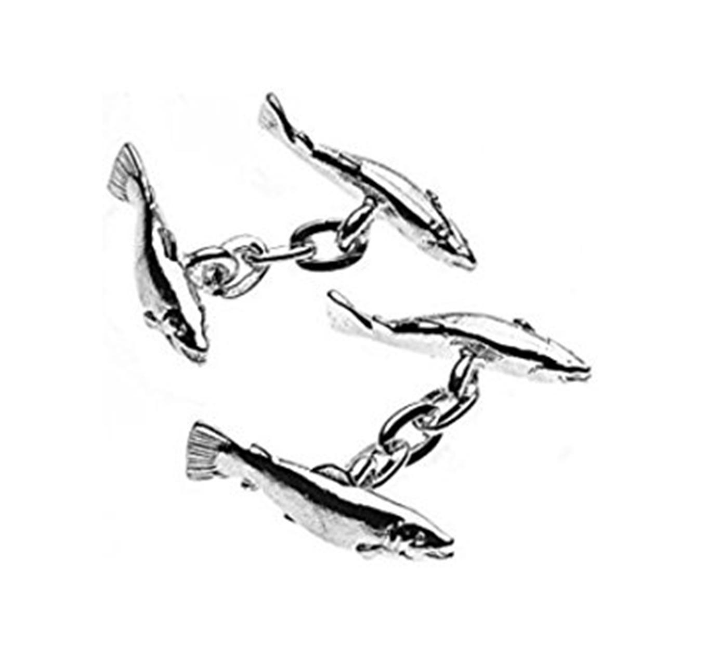 Salmon Cufflinks
