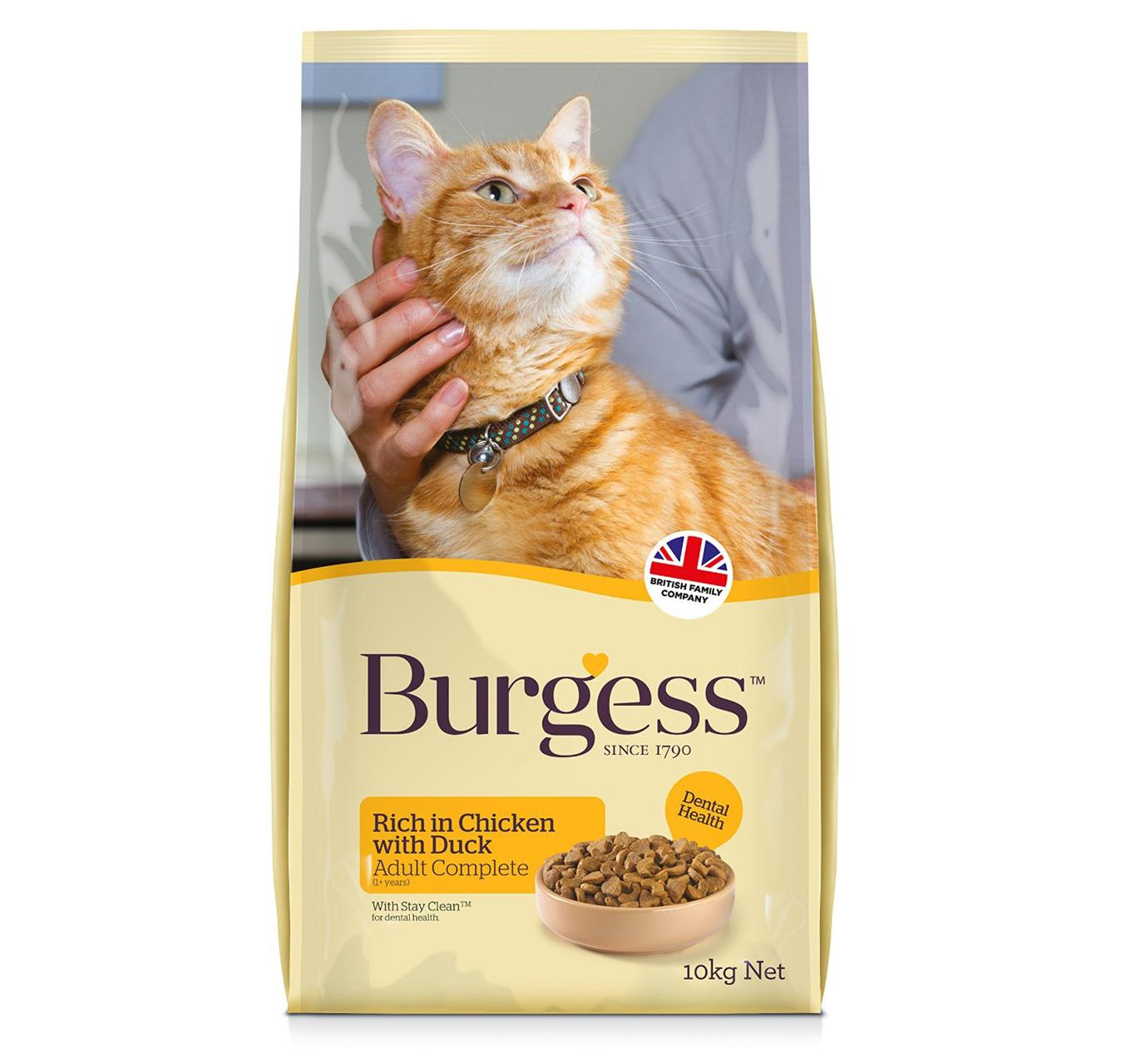 Burgess Chicken & Duck 10kg