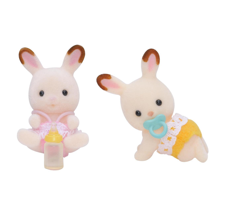 Chocolate Rabbit Twins