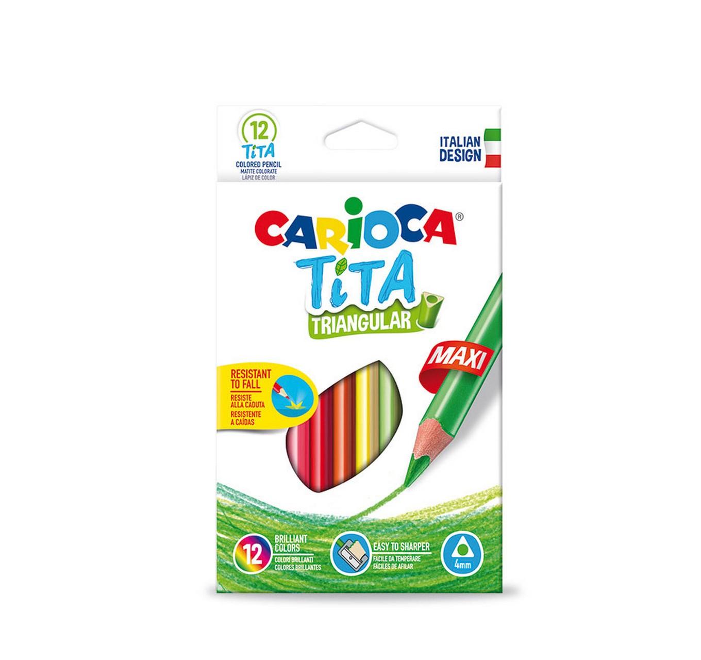 Tita Maxi Colour Pencils 12pk
