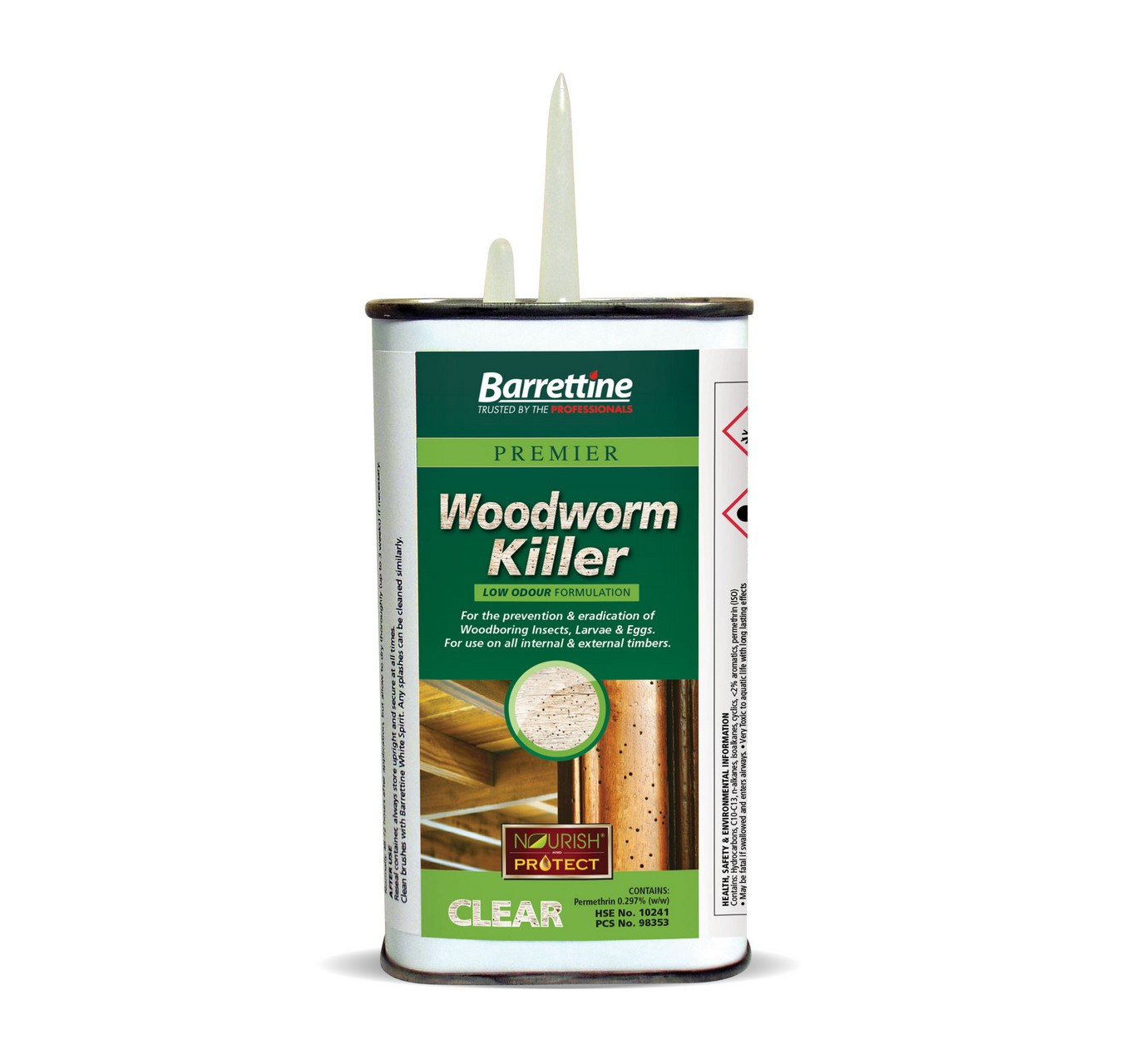 Woodworm Killer 250ml