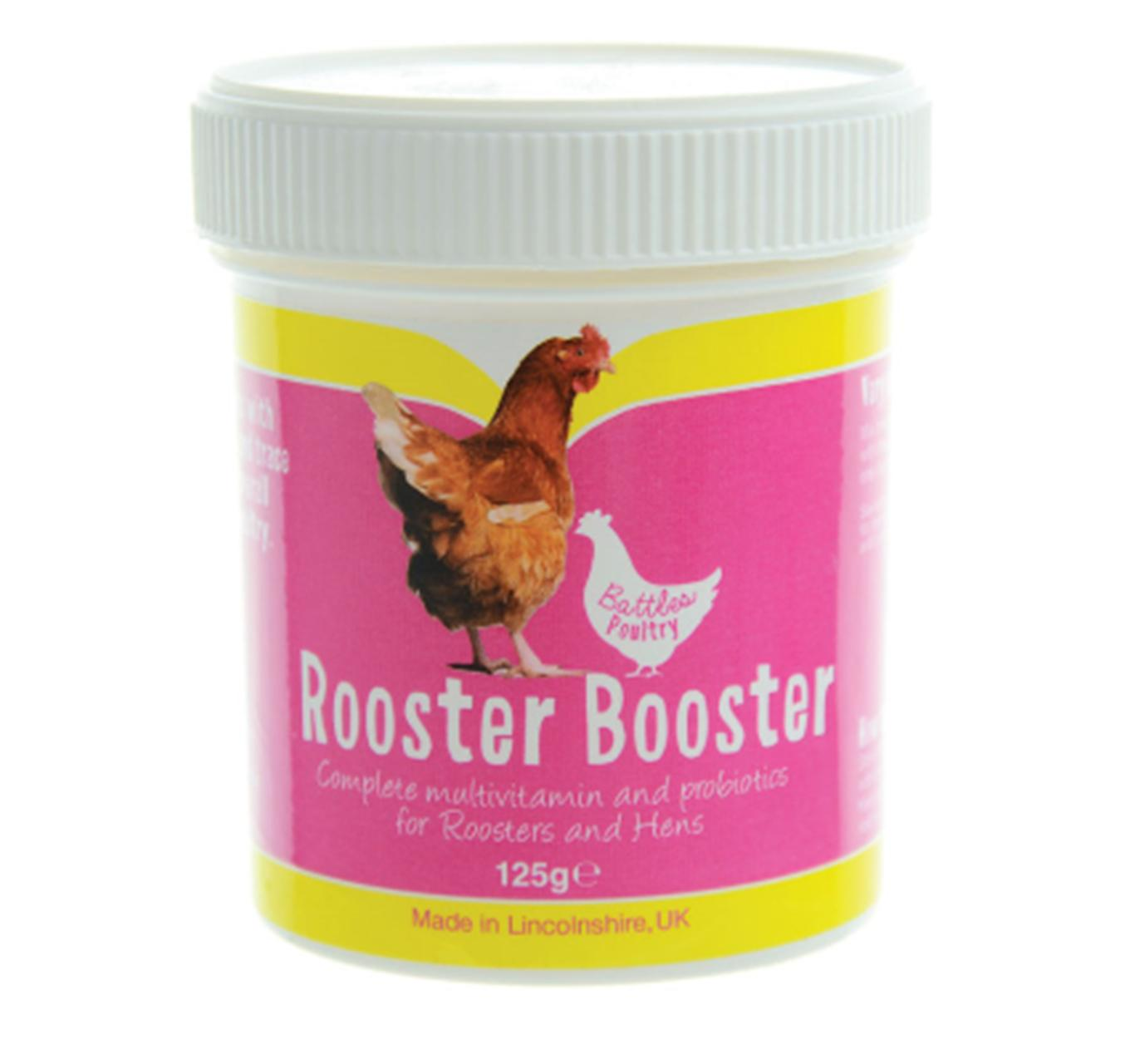 Rooster Booster 125g