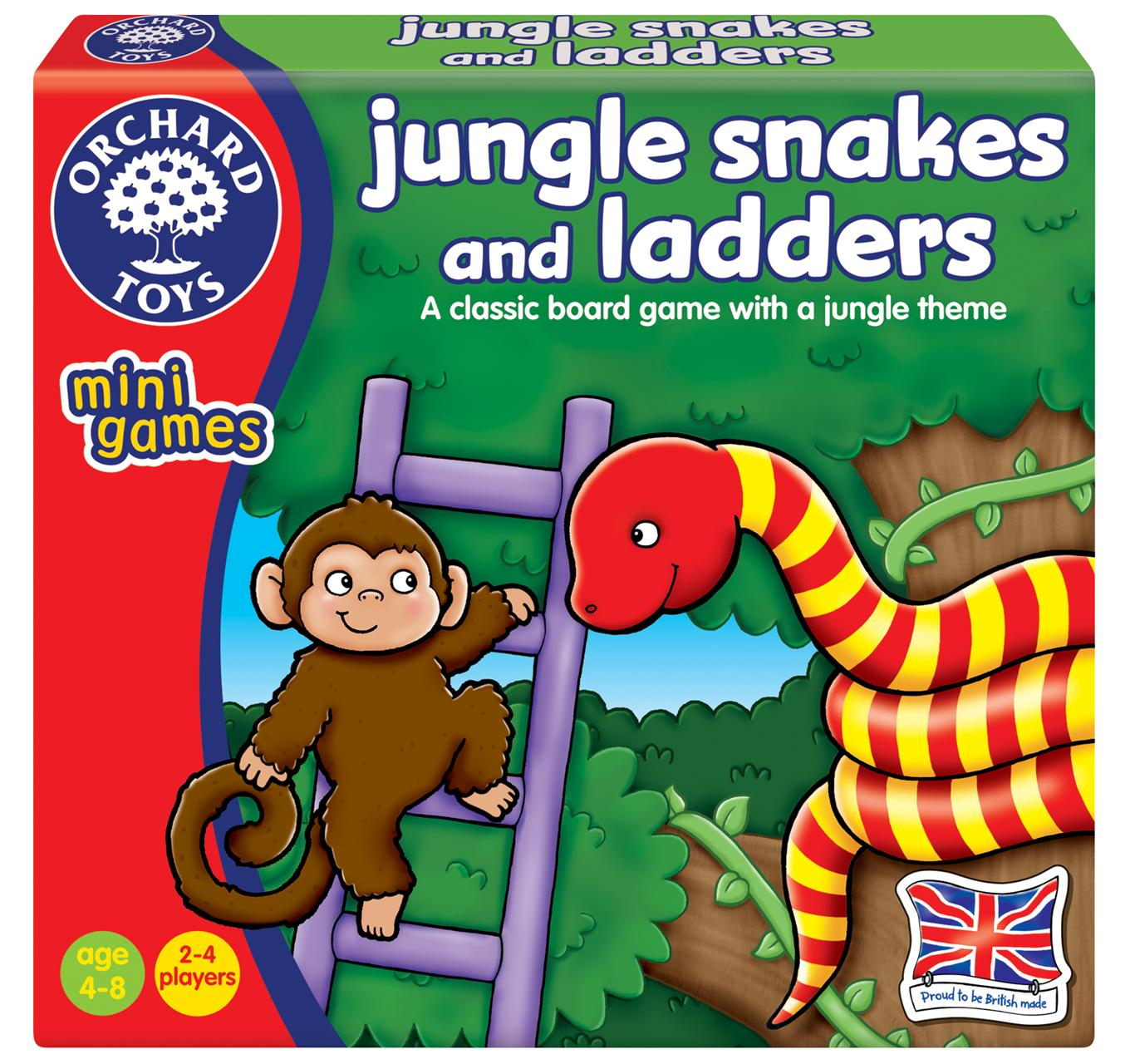Jungle Snakes & Ladders
