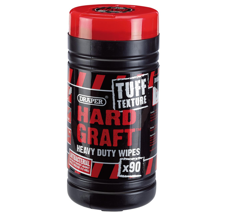 Hard Graft H/D Wipes - 90pk