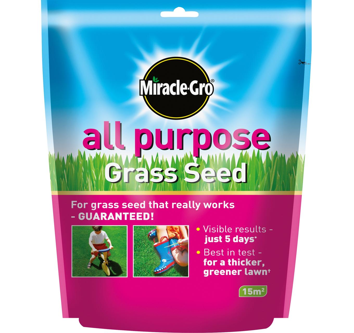 All Purpose Grass Seed 15m2
