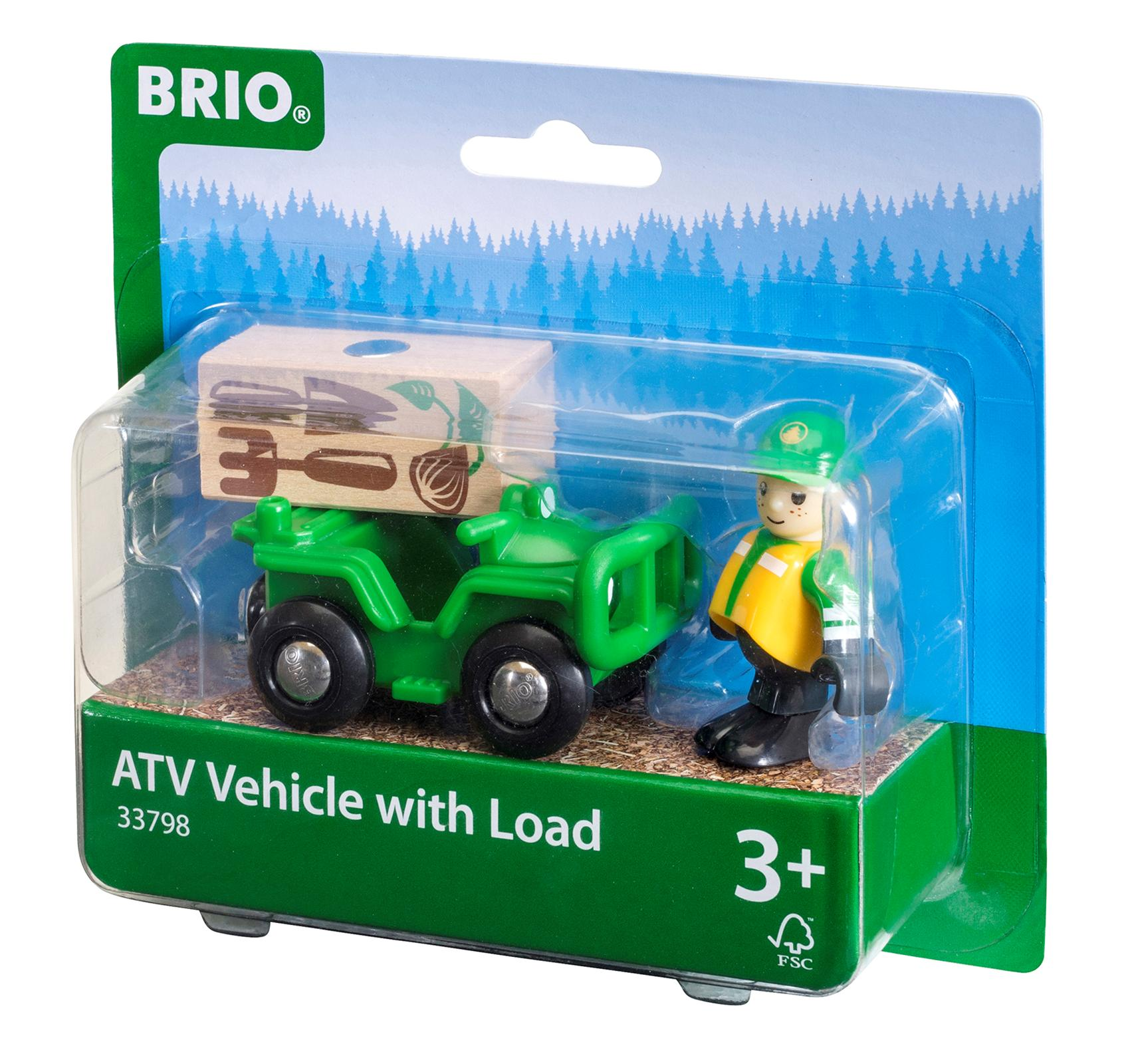 ATV with Load