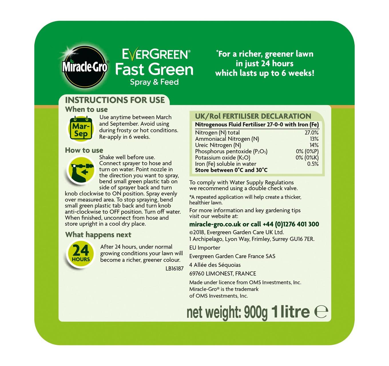 Evergreen Spray & Feed 1L