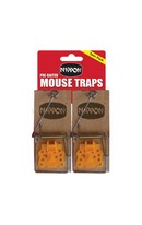 Mouse Traps Pre-Baited 2pk