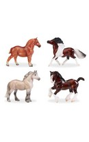 British Ponies & Draught Set