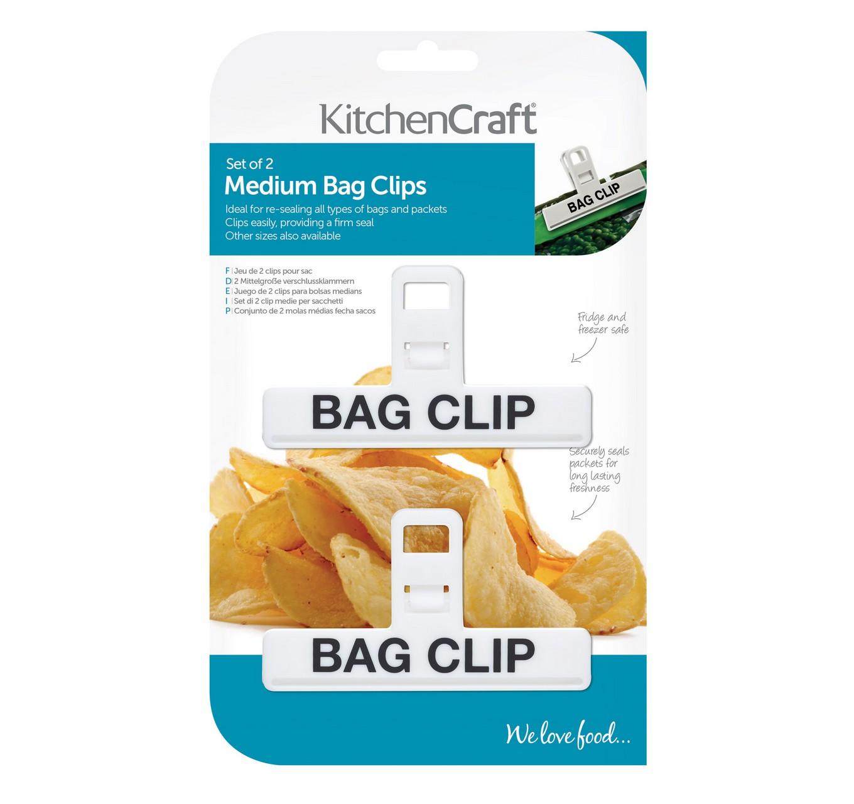 Medium Bag Clips 2pk