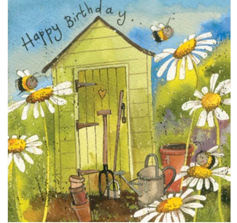 Birthday - Garden Shed