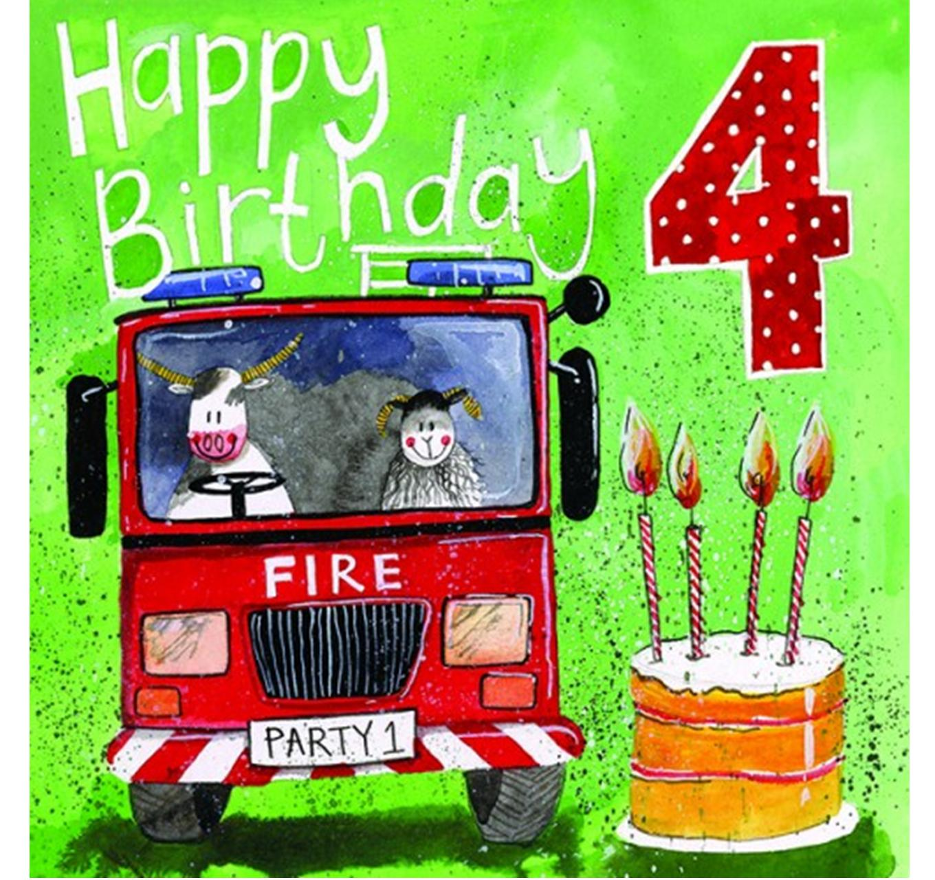 Birthday - Fire Fighters 4