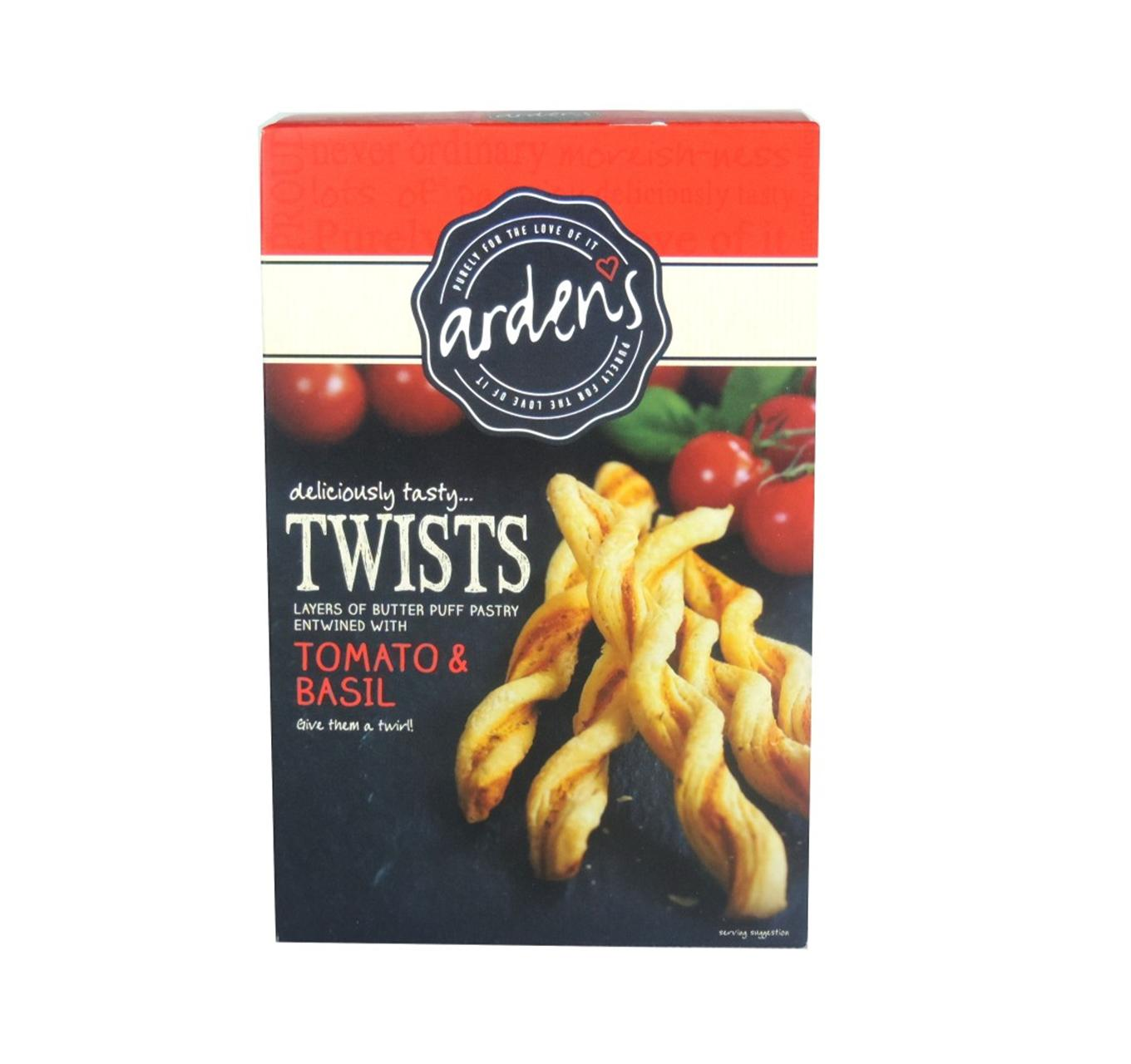 Twists - Tomato & Basil 100g