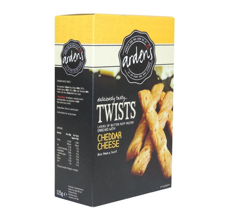 Twists - Cheddar Cheese 125g
