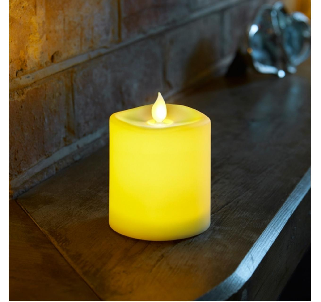Flameless Battery Candle 10cm