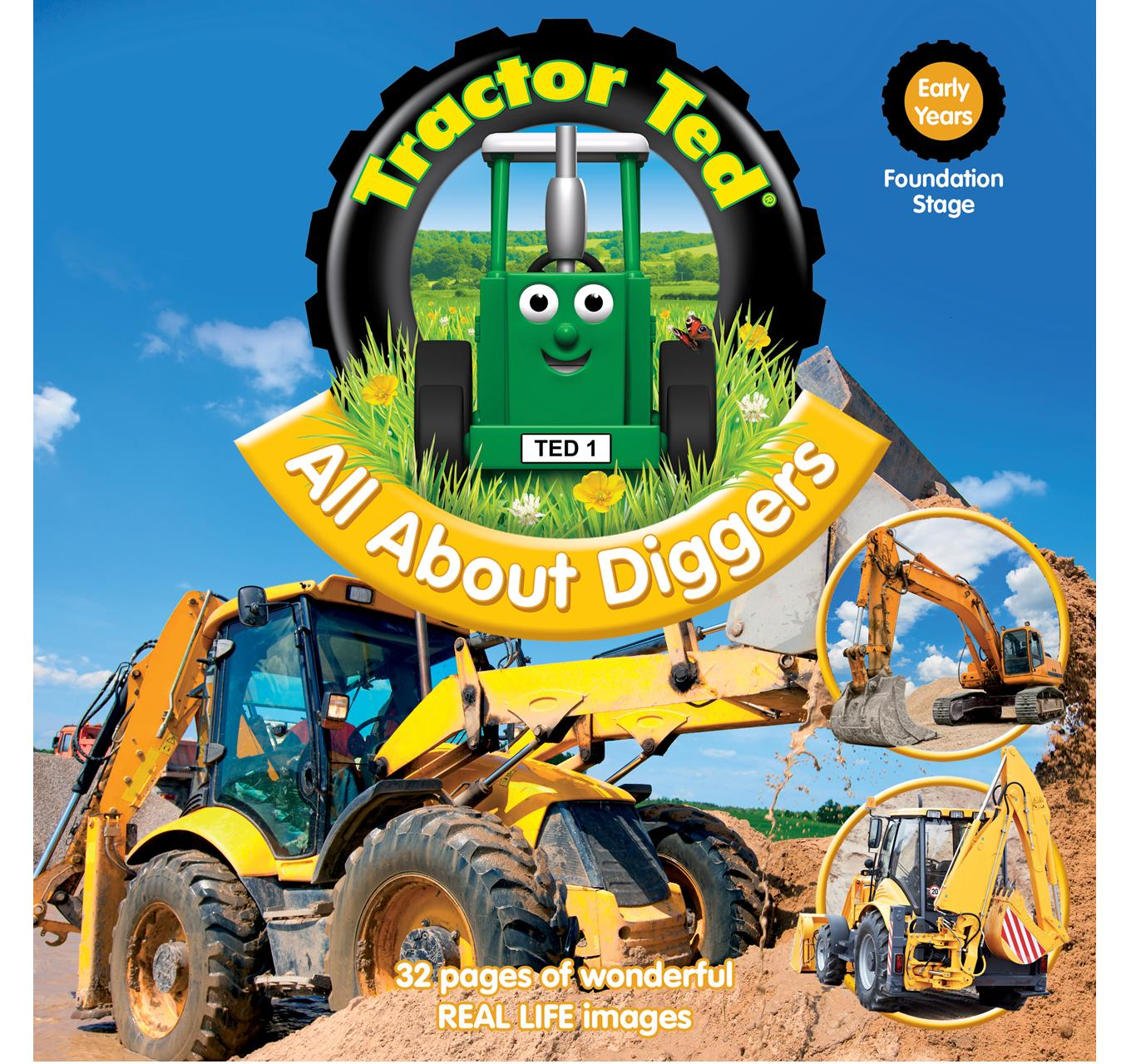All About Diggers Book