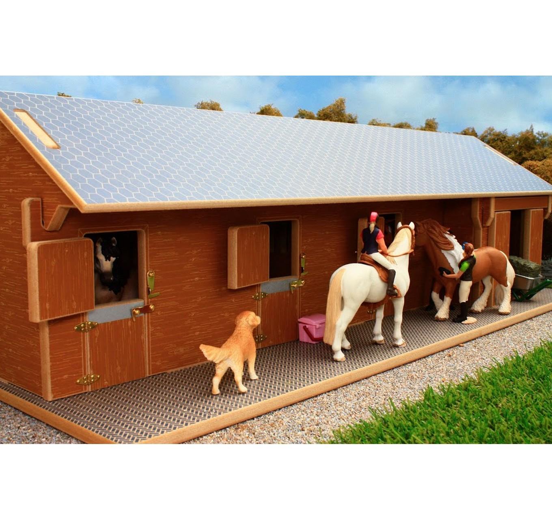 Brushwood Toys Horse Stable 1 24 Schleich Schleich